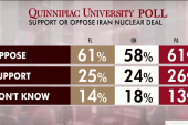 Poll: Voters oppose nuclear deal