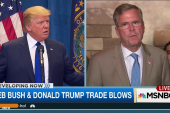 Bush, Trump trade blows over immigration