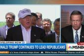 O'Malley: Trump's rhetoric is 'unbecoming'