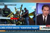 Tension on Colombia-Venezuela border