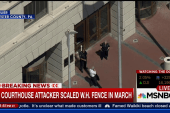 PA courthouse attacker scaled WH fence in...