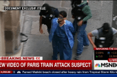 New video of Paris train attack suspect