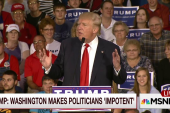Dean: Trump running against own party