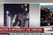 Report: suspect live tweeting shooting