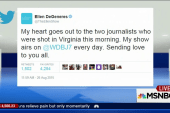 Social media reacts to WDBJ shooting