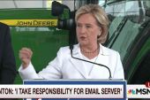 Clinton takes contrite tone on emails