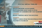 Shooter used social media while fleeing scene