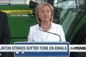 Clinton likens GOP views on women to those...