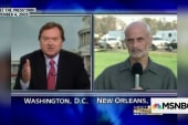Russert presses Chertoff on Katrina failures