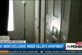 Inside killer's 'near empty' apartment
