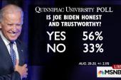 Joe Biden's pathway to nomination 'narrow'