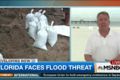 Storm Erika brings Florida flood watch