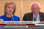 Trump and Sanders steal the spotlight