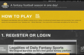 Daily Fantasy Sports - Why is it legal?