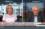 Sanders on minority outreach on the trail