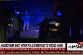 Cop shot after responding to wrong home