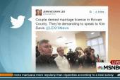 Kentucky clerk denies marriage licenses
