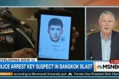 Police arrest key suspect in Bangkok blast