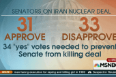 Will the Senate kill the Iran deal?