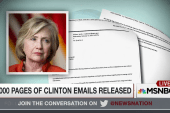 7,000 pages of Clinton emails released
