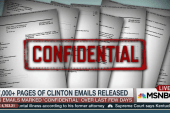 Thousands of pages of Clinton emails released