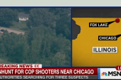Manhunt underway for cop shooters near...