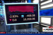 Dow plunges more than 400 points