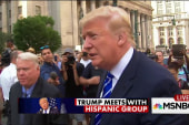 Donald Trump meets with Hispanic group
