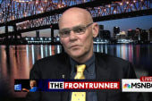 Carville sounds off on the Clintons