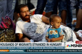 Tension 'rising' as migrant crisis builds