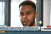 American train attack hero speaks out