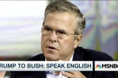 Trump to Jeb Bush: Speak English
