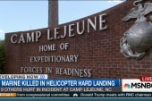 Injuries reported in marine copter incident