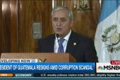President of Guatemala resigns amid scandal