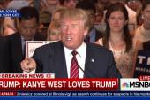 Trump: Kanye West loves Trump