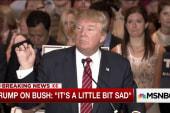 Donald Trump pledges his allegiance to GOP