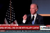 Clinton: 'I wish the best' for the Bidens