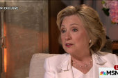 Exclusive: Hillary Clinton talks to Andrea...