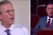 Jeb Bush struggles amid Colbert dispute