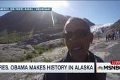 Obama racks up presidential firsts in Alaska