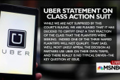 Are Uber drivers employees of the company?