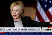 Clinton on the offensive with Trump