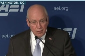 Ginsberg: Cheney Iran speech 'vitriolic'