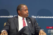 Ben Carson talks violent temper