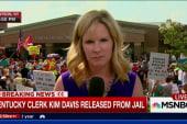 Kim Davis leaves Kentucky jail