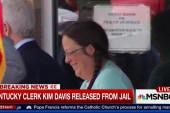 Kim Davis released from jail