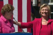 Hillary Clinton tries to outmuscle Joe Biden