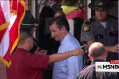Ted Cruz boxed out of Kim Davis media stunt