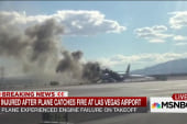 7 injured after plane catches fire in Vegas