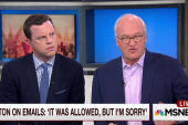 Barnicle: This won't go away for Hillary